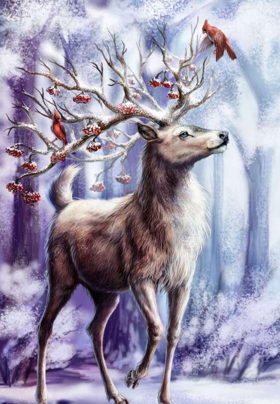 мастерицы сказочные картинки с оленями знаешь, что